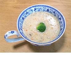 料理豆乳スープ写真